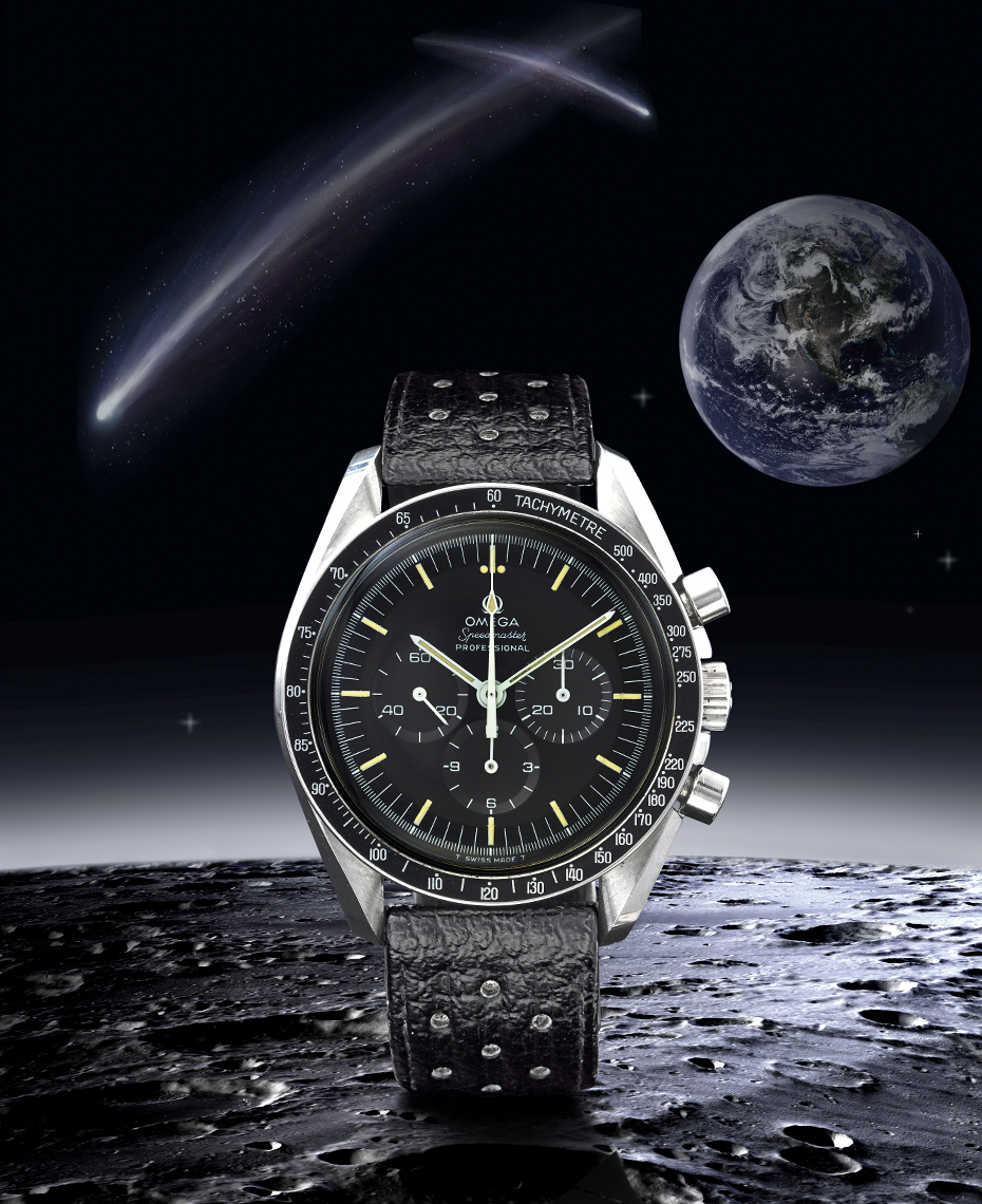 Watch Photography - Omega Speedmaster Wristwatch