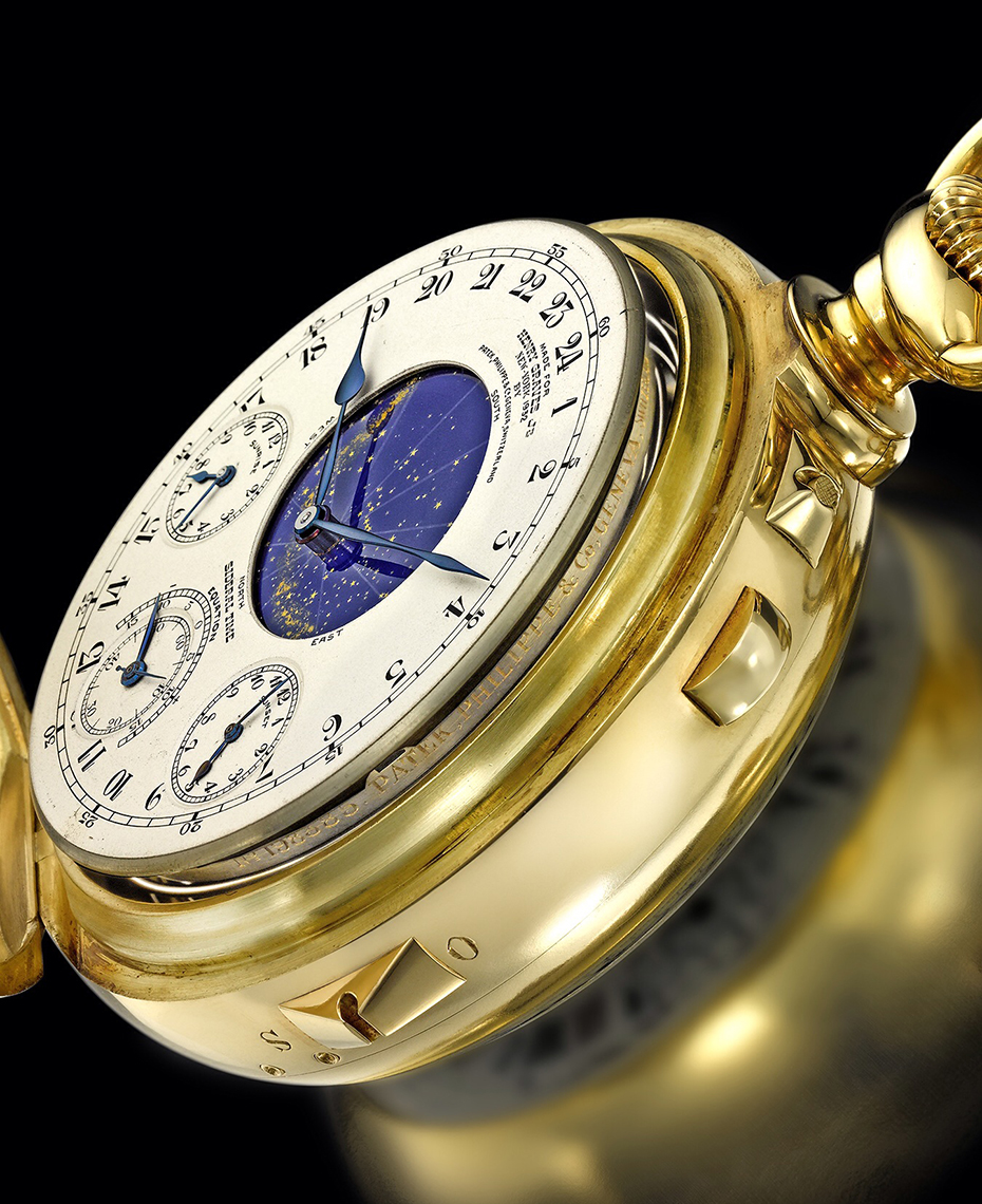Timepiece Photography - Henry Graves Patek Philippe Pocket Watch