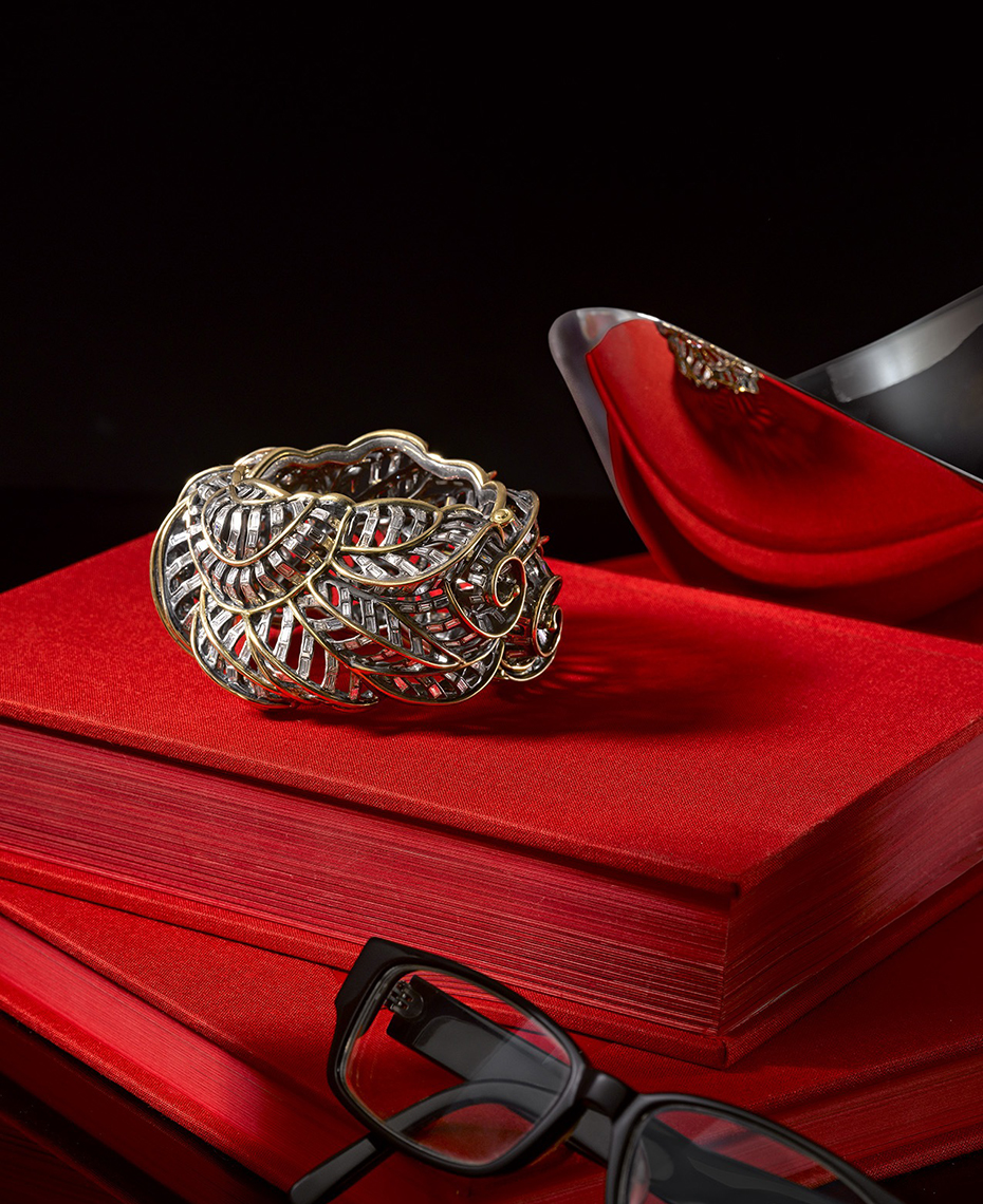 Editorial Photography  - Diamond and Gold Bangle