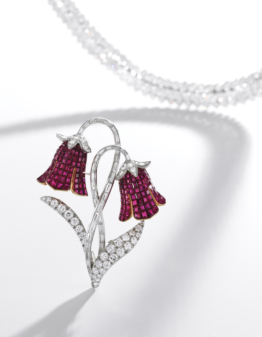 Diamond and Ruby Jewelry