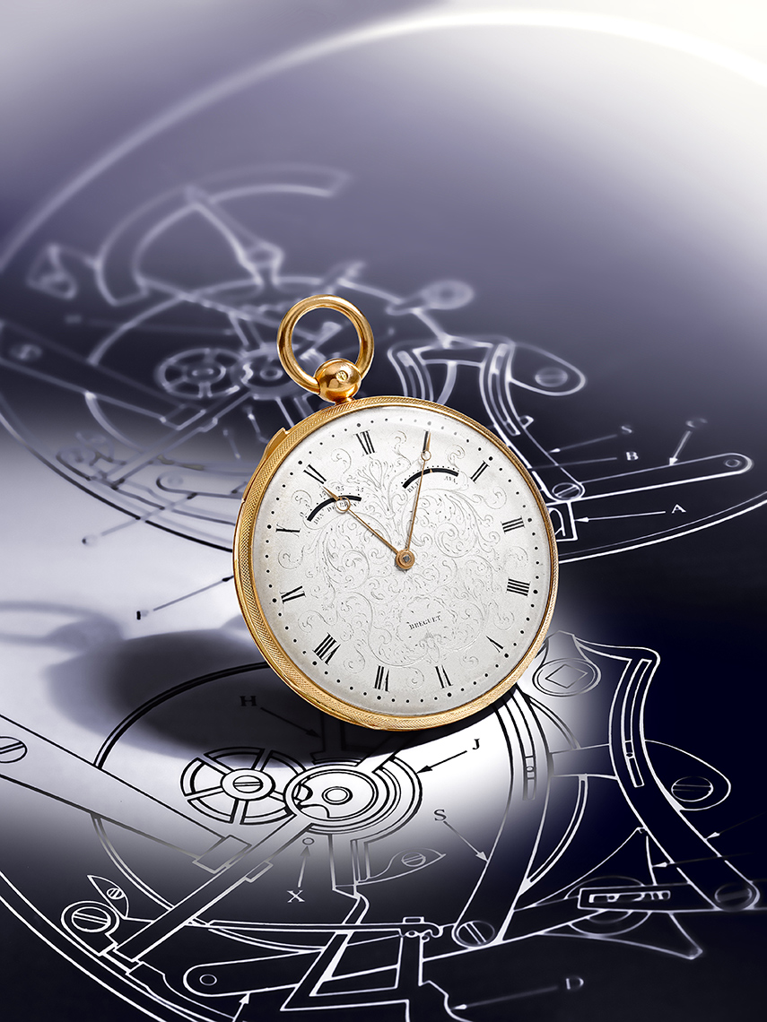 Timepiece Photography - Breguet Gold and Enamel Pocket watch
