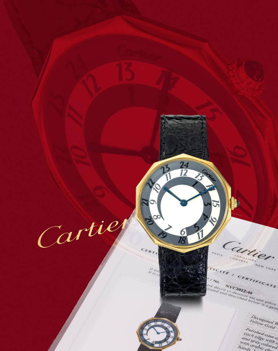rare cartier watch