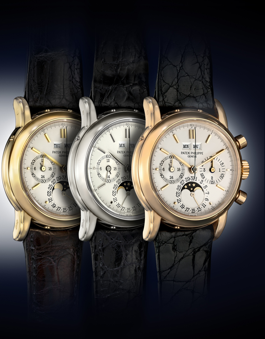 Patek Philippe watch photography