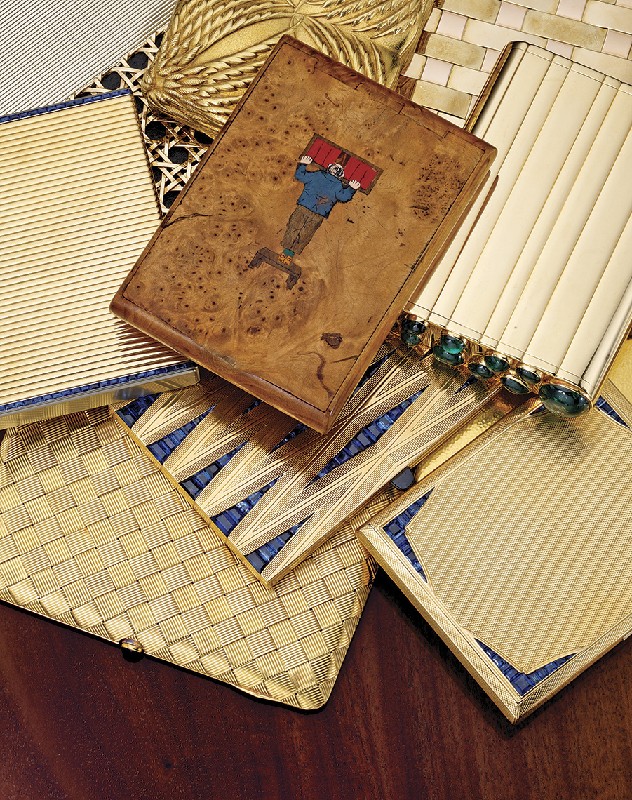 SquareMoose Photography and Design -Vintage cigarette cases