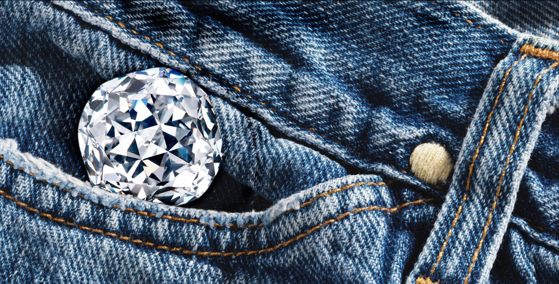 Diamond in Blue Jeans pocket