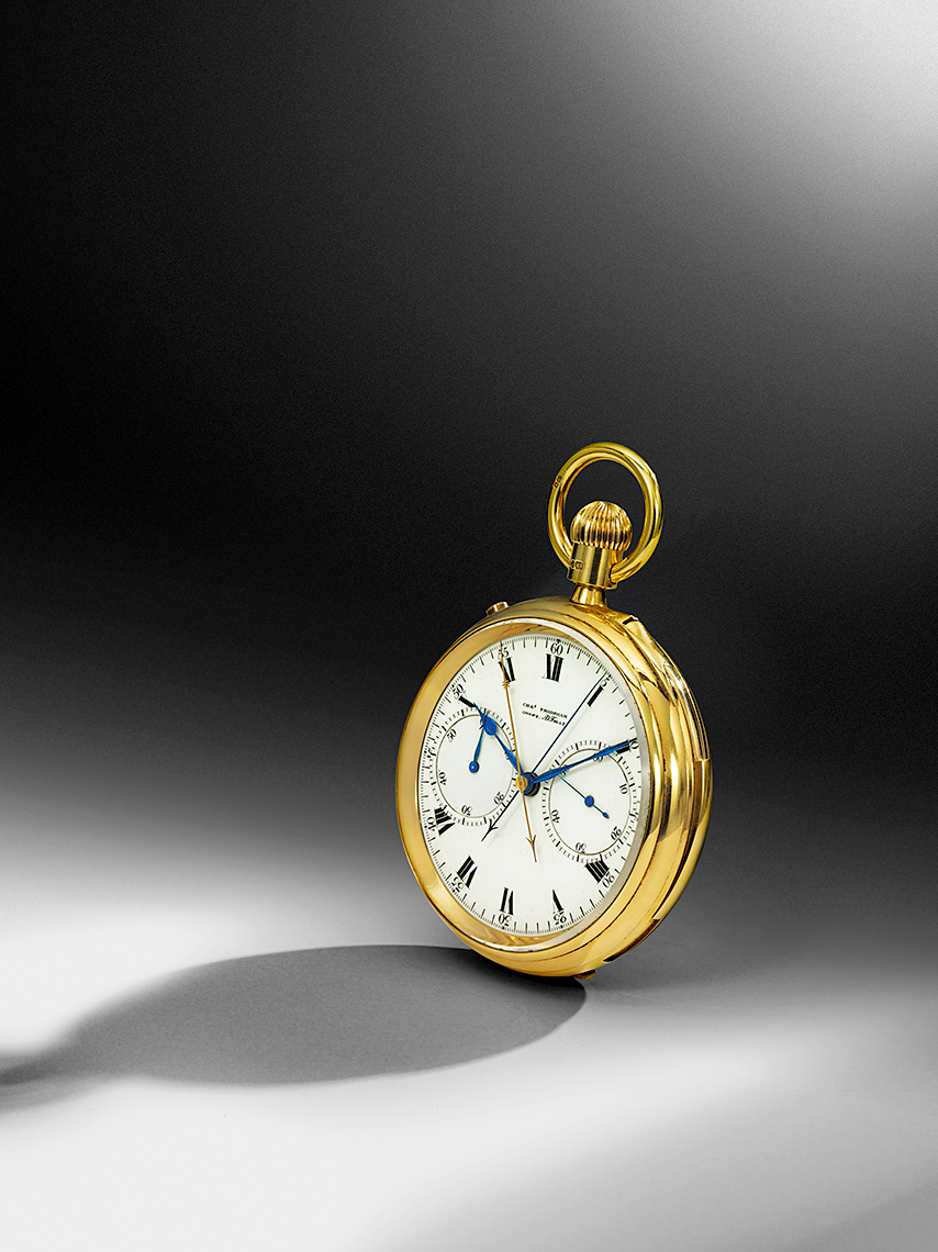 Gold Pocket watch Photography
