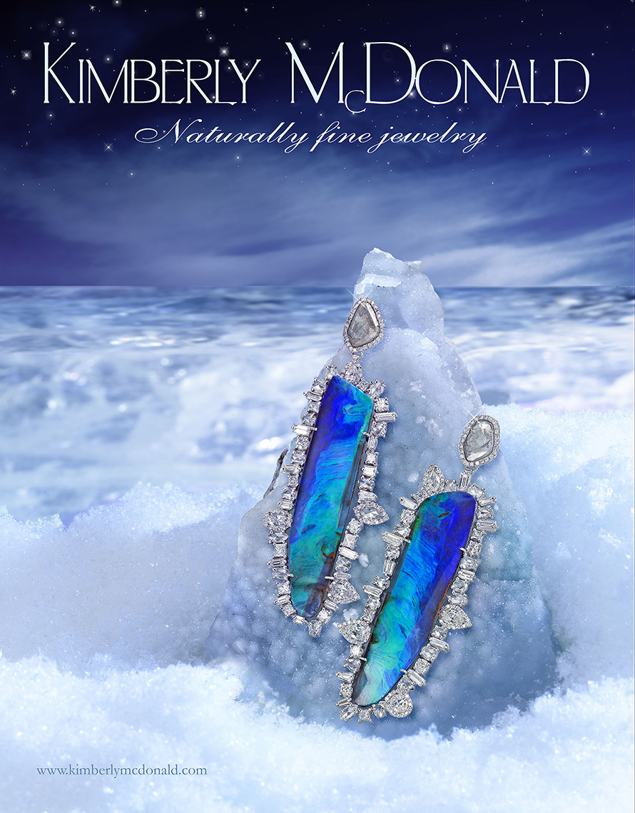 KimberlyMcDonald WMag geode earrings