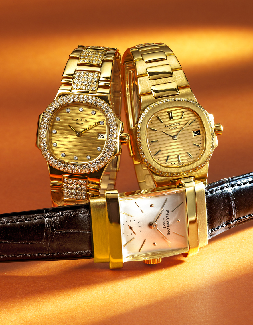 Patek Philippe gold watches