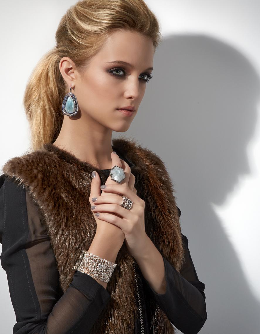 SquareMoose Jewelry Photography - Geode Jewels on Abercrombie & Fitch model